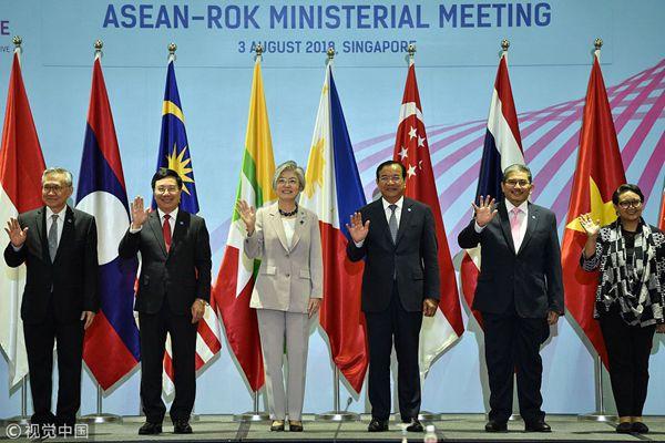 新加坡:东盟外长会议持续召开