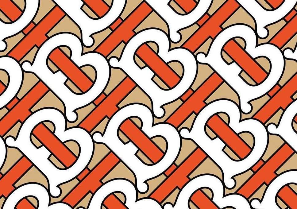 Burberry时隔20年首次发布新标识/字母印花