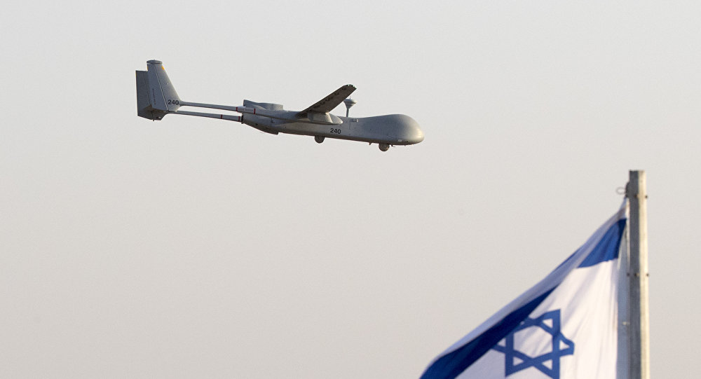 叙军称在大马士革以西击落2架以色列无人机