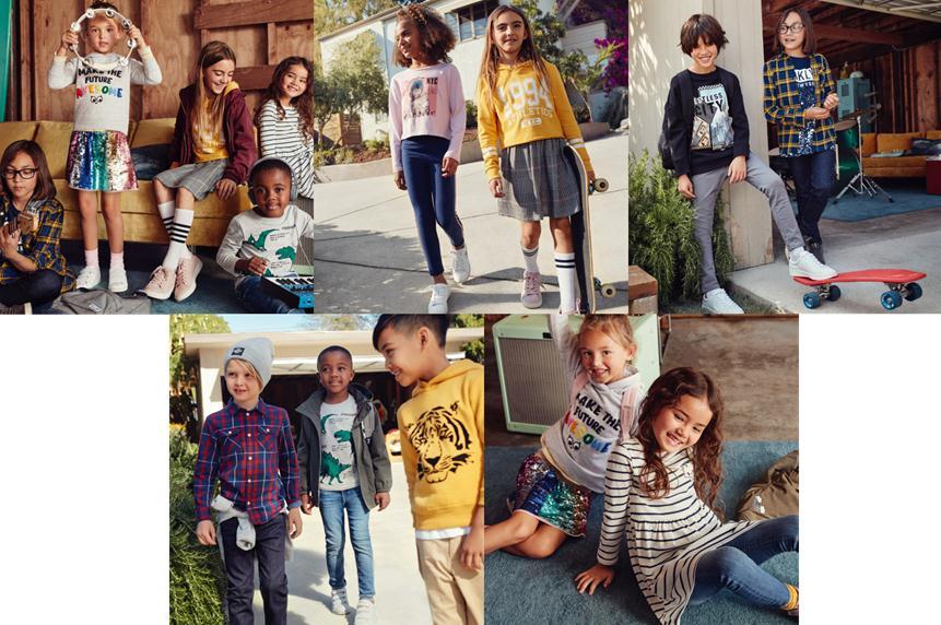 H&M 全新重返校园系列——千变造型展现宝贝花样个性