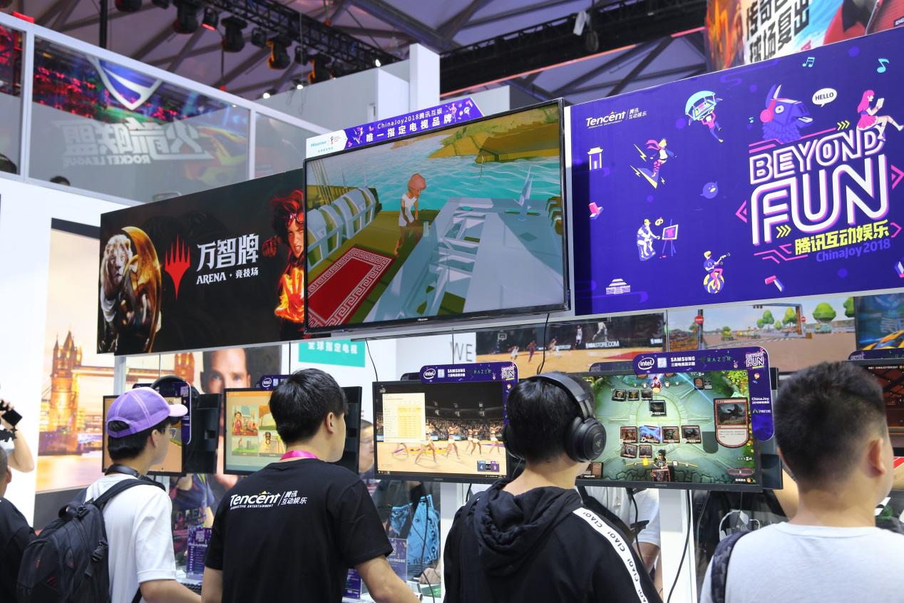 海信世界杯电视亮相ChinaJoy展 再成游戏利器