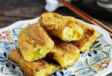 食物冷门又有趣的吃法 油条灌鸡蛋你吃过吗?