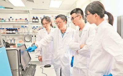 中国科学家在合成生物学领域实现突破