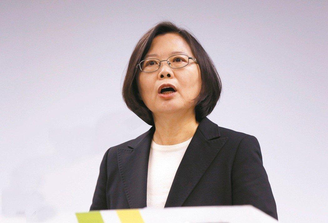 台湾经济增长率超越韩国? 蔡英文一席话被网友酸爆:这才是假新闻吧