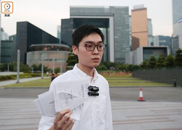 """香港外国记者会邀陈浩天演讲 外交部驻港特派员公署:坚决反对外部势力予""""港独""""讲台"""