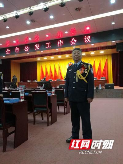 长沙内保支队民警于卫华: