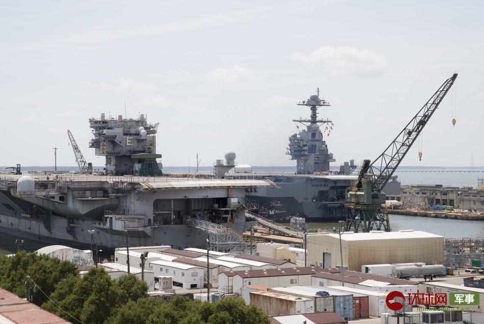 """美军首艘核航母""""企业""""号拆解费恐破10亿美元"""