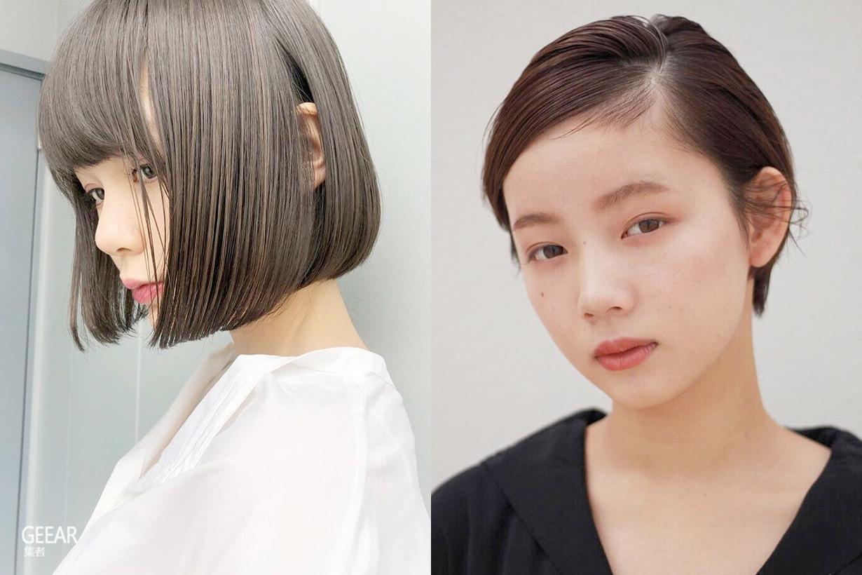 夏日发型不一定要蓬松,看完这些示范你会发现油头更时髦!
