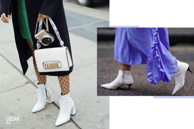 穿白色短靴会显高?几个简单穿搭小技巧让时尚感飙升!