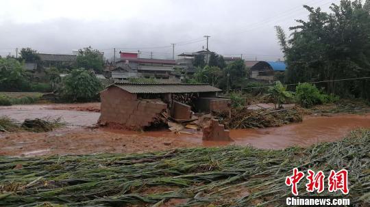 云南景谷县永平镇发生洪涝灾害 96.7公顷农作物受灾