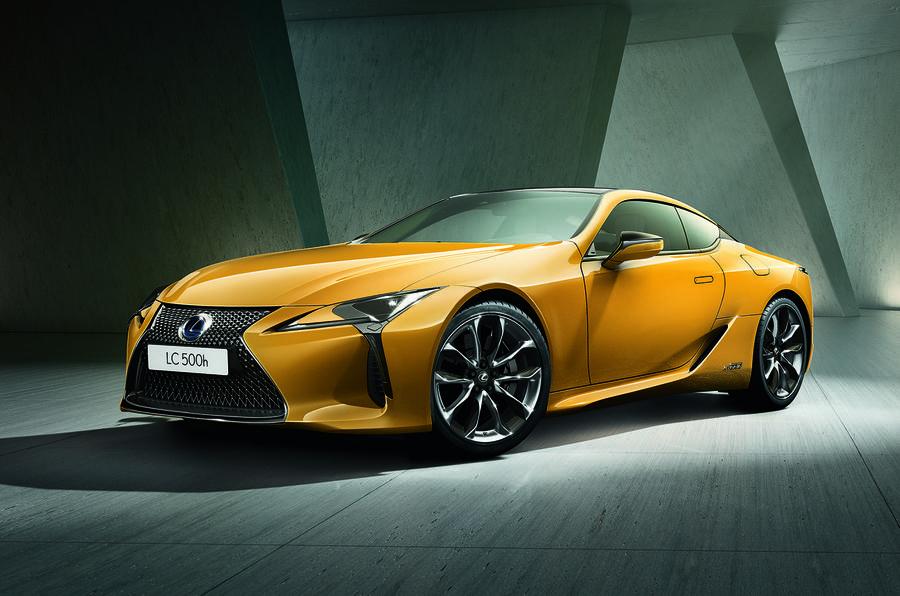 雷克萨斯公布LC限量版预告图 巴黎车展首发