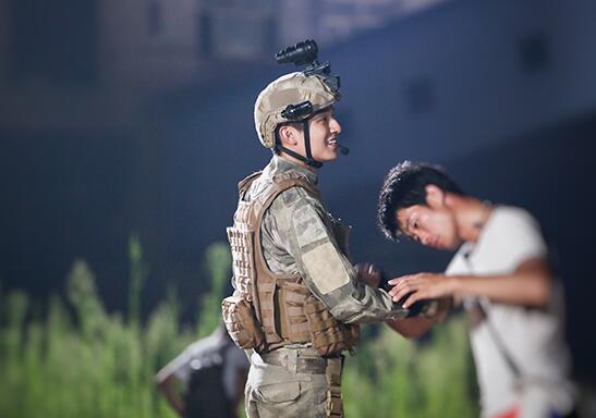 《反恐特战队之天狼》杨旭文杀青 刻苦体验军旅生活