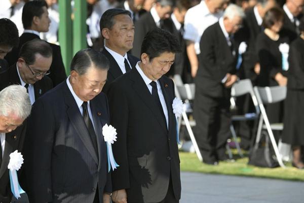广岛举行和平纪念仪式 呼吁日本为无核世界发挥作用