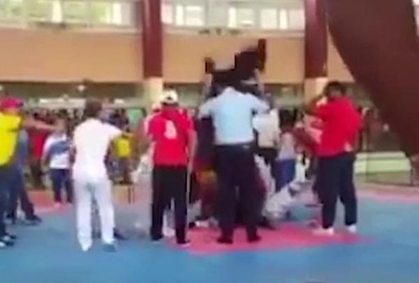 古巴16岁男孩参加跆拳道比赛时突发心脏病身亡