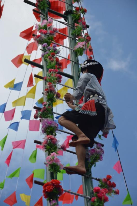 民族村特色节庆活动——傈僳族阔时节