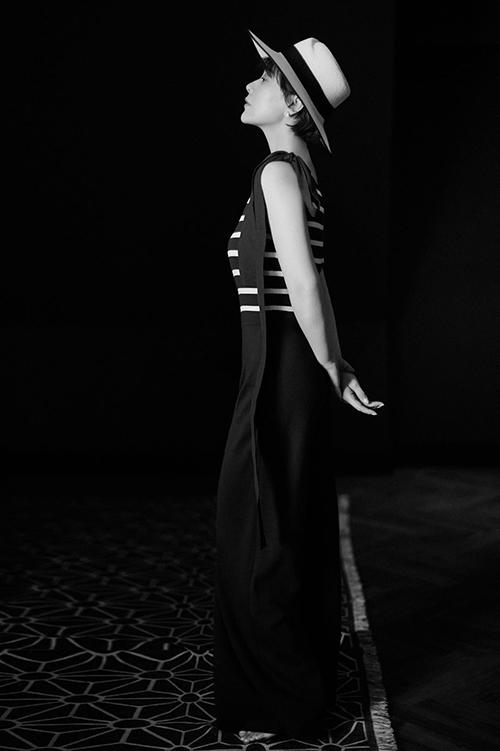 海清黑白写真 纯净色调定格高级质感