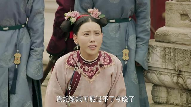 《延禧攻略》高贵妃被金汁烫伤全身溃烂,最后的请求感动皇上