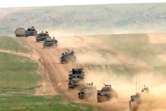 军校同学朱日和成对手 红方曾开场就被灭80%坦克
