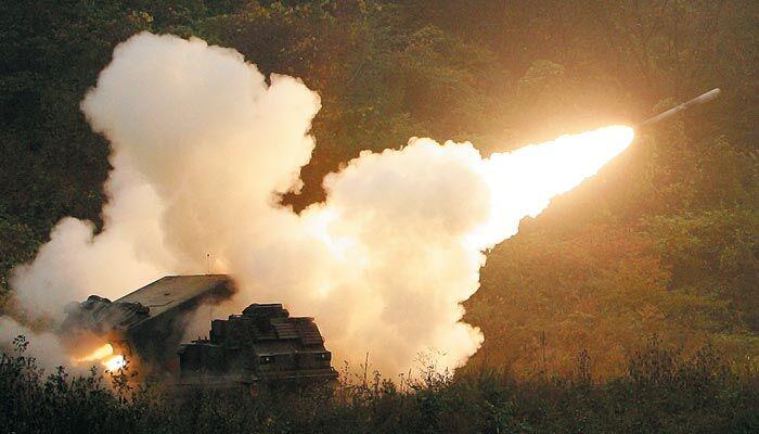 韩美组联合炮兵旅 强化联合防卫能力