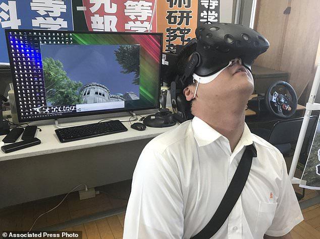 日本学生用VR还原广岛原子弹爆炸 避免悲剧重演