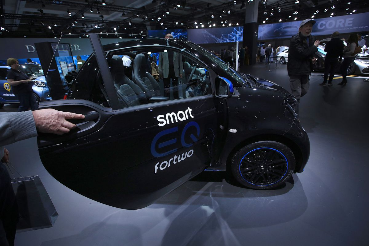 戴姆勒或与北汽成立新合资公司 投产Smart电动汽车