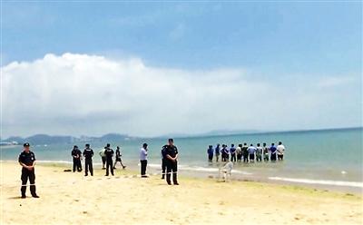 北京双胞胎女童殒命青岛海边