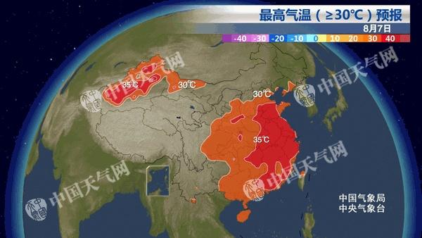 今日立秋闷热持续 山东等7省市局地极易发生中暑