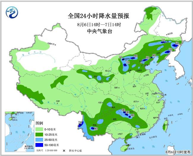 强降雨影响北方多地缓旱情 西南地区注意防范地质灾害