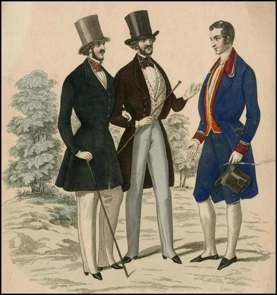 直男审美崩溃 是从衣服不再高级定制开始的