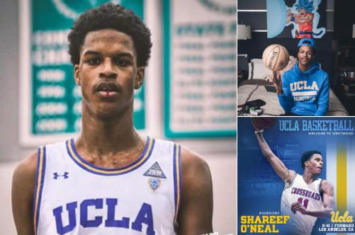 虎父无犬子!奥胖儿子谢里夫加盟UCLA 下一站超巨?