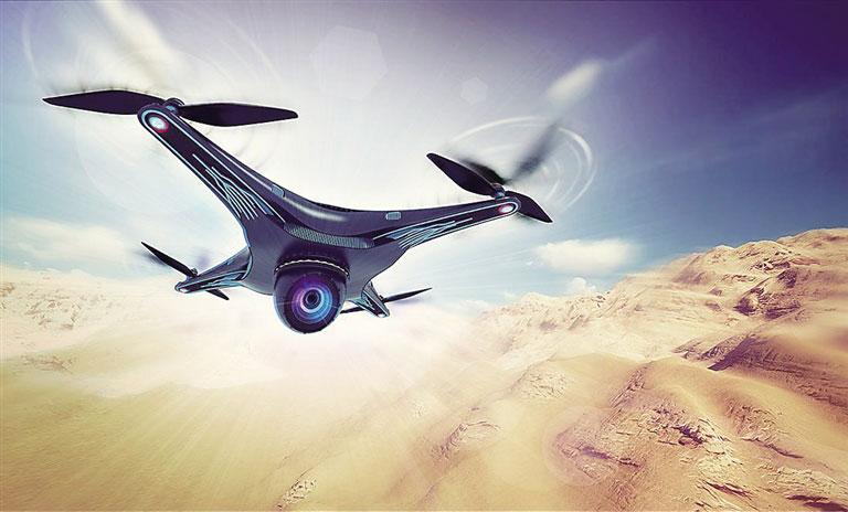 无人机发展前景与趋势分析 2025年将达750亿