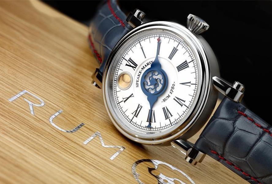 最古老朗姆酒手表被拍卖 曾沉寂酒窖数百年