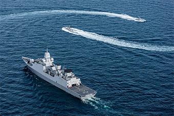乌克兰带北约军舰在黑海举行联合演习