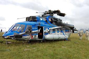 俄最受关注直升机原型机测试时发生事故
