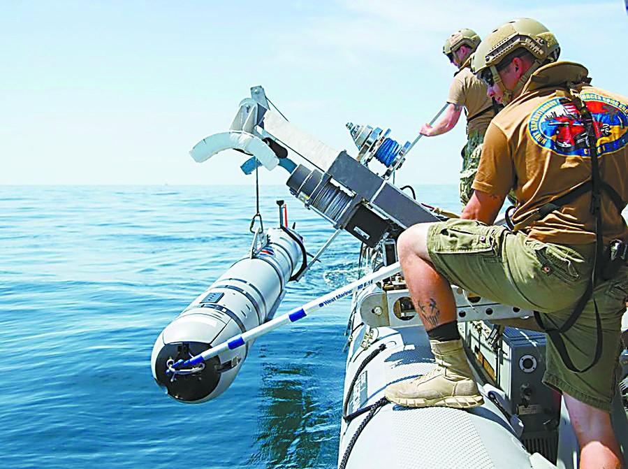 """美国掏8亿美元造""""水下无人机"""" 明显针对中国"""