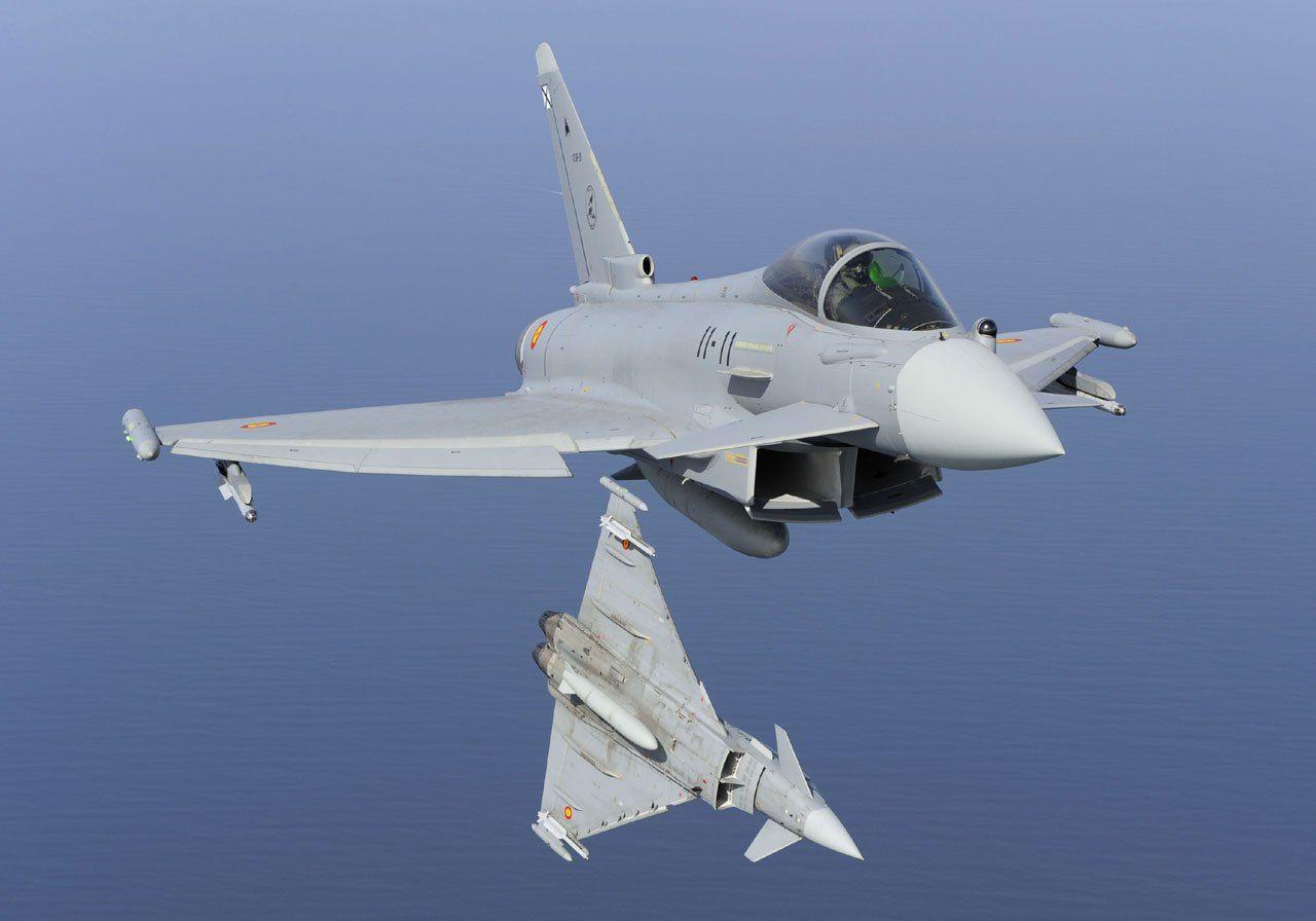 西班牙战斗机在俄邻国误射导弹 弹体下落不明