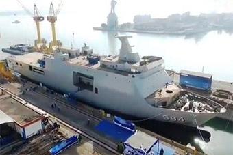 印尼最新万吨船坞登陆舰下水 已下水6艘