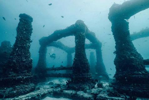 美佛州南部海底陵墓为海洋热爱者提供独特安息方式