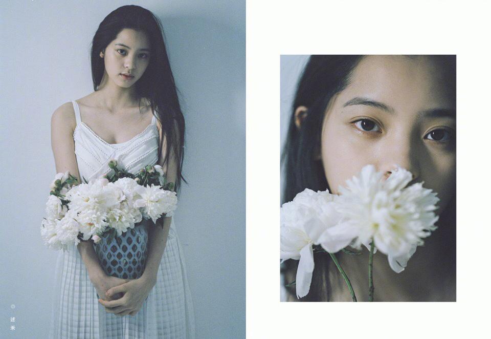 欧阳娜娜,我的青春不能少了那条白色长裙?