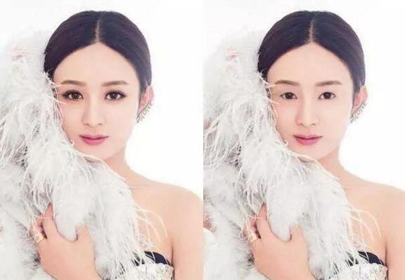 当女神没了双眼皮:杨颖漂亮,赵丽颖显成熟