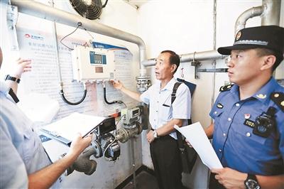 燃气安全专项检查 城管邀专家查隐患