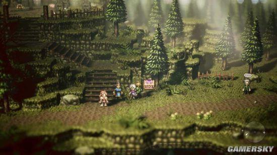 《八方旅人》销量远超预期 类似游戏已在制作