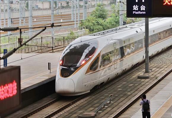 京津城际实现时速350公里运行 票价不变