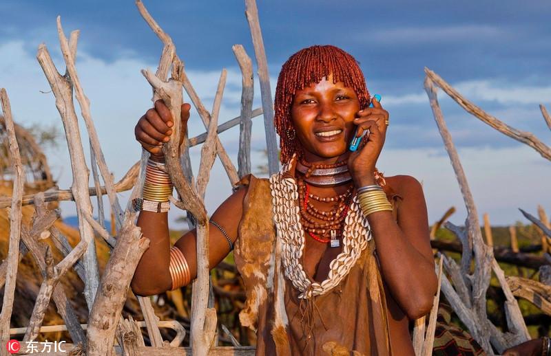 当土著人与现代高科技相遇……