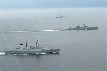 英国派最强战舰在英吉利海峡监视2艘过境俄军舰