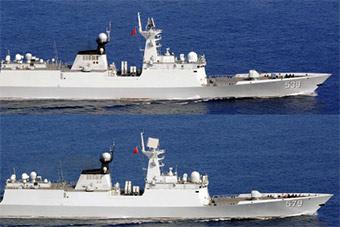 我6艘军舰分批隔日来回穿越大隅海峡 日持续监视