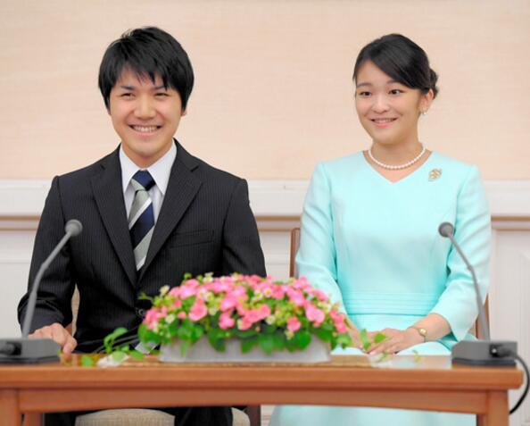 """日本秋筱宫夫妇要求长女未婚夫小室""""展示未来计划"""""""