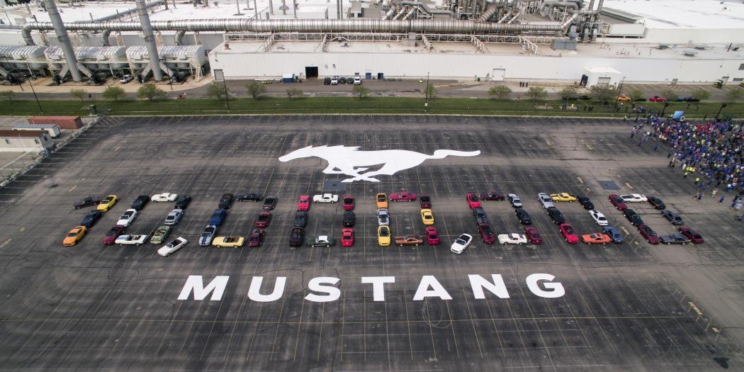 福特迎来新里程碑 第1000万辆野马下线