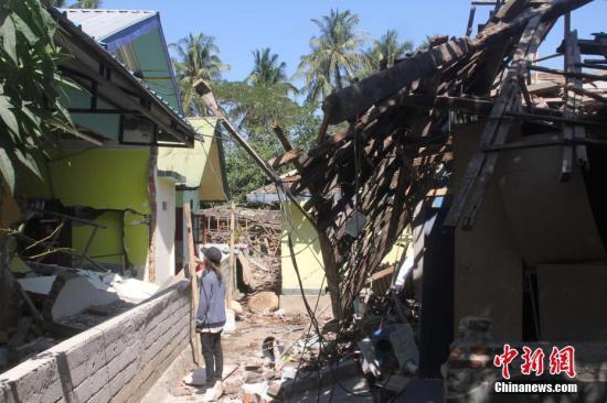 印尼龙目岛灾区急需救援物资