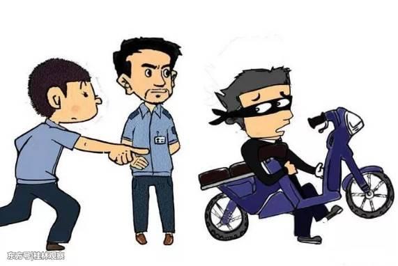 """桂林灌阳5名盗贼满载而归,却被民警拦住了""""盗路""""!"""